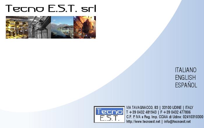 Tecno E.S.T. srl | Mechanical and Steel Engineering
